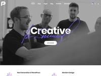 Pisces - Multi Concept Creative Bootstrap 4 Template