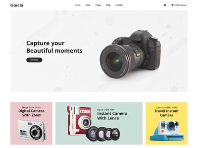 Garcia - Camera Store HTML Template