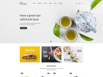 Munoz - Restaurant HTML Template