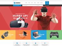 Jobaria   electronics store html template