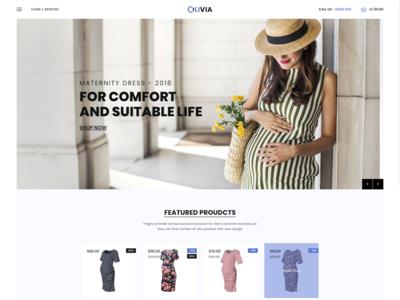 Olivia   Maternity Shop Shopify Theme