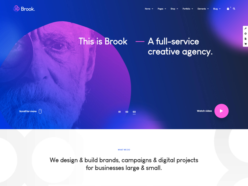 Brook   Creative Agency   Business Html Template
