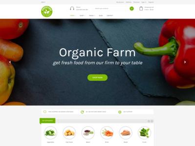 Organic Food Shopify eCommerce Theme   Greenfarm