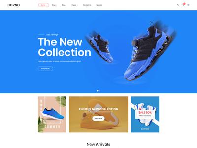 Dorno - Fashion eCommerce HTML5 Template