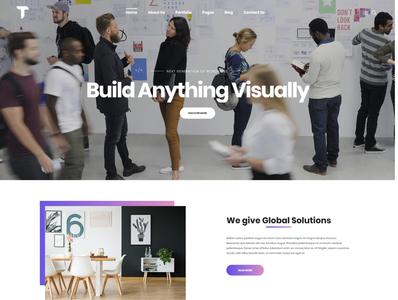 Thanos - Creative Bootstrap HTML Template