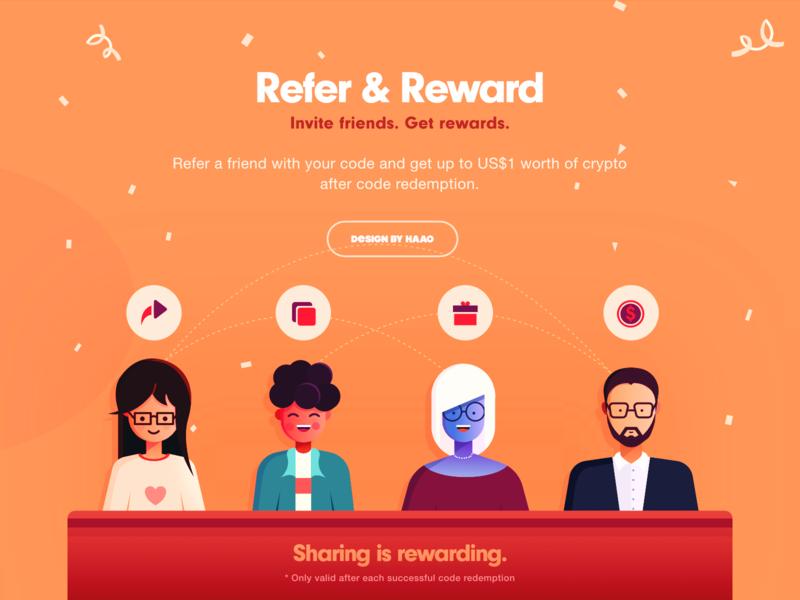 Refer&Reward affinitydesigner share illustrations