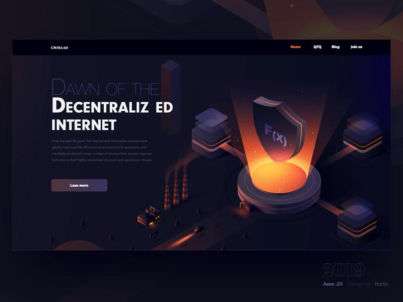 Security graphics for FX affinitydesigner security isometric orange illustrations web