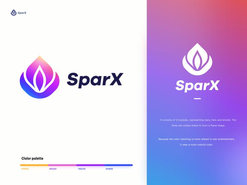 Logo-sparx vector design logo