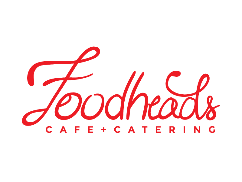 Foodheads Identity type hand homemade austin foodheads identity branding restaurant