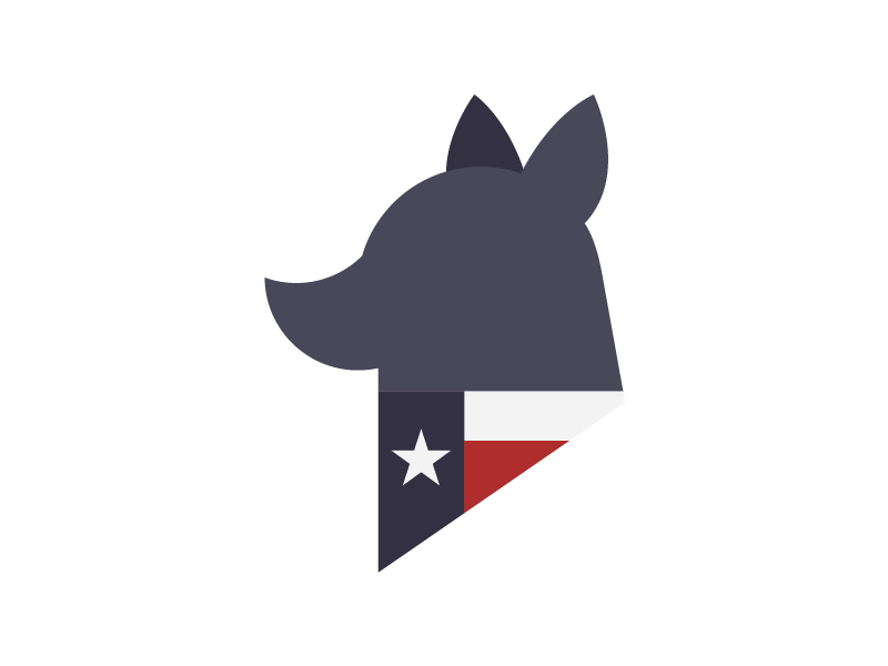 Finalizing Spec Logo for TCDR dog dogs blue heelers branding logos logo texas cattle dog rescue tcdr