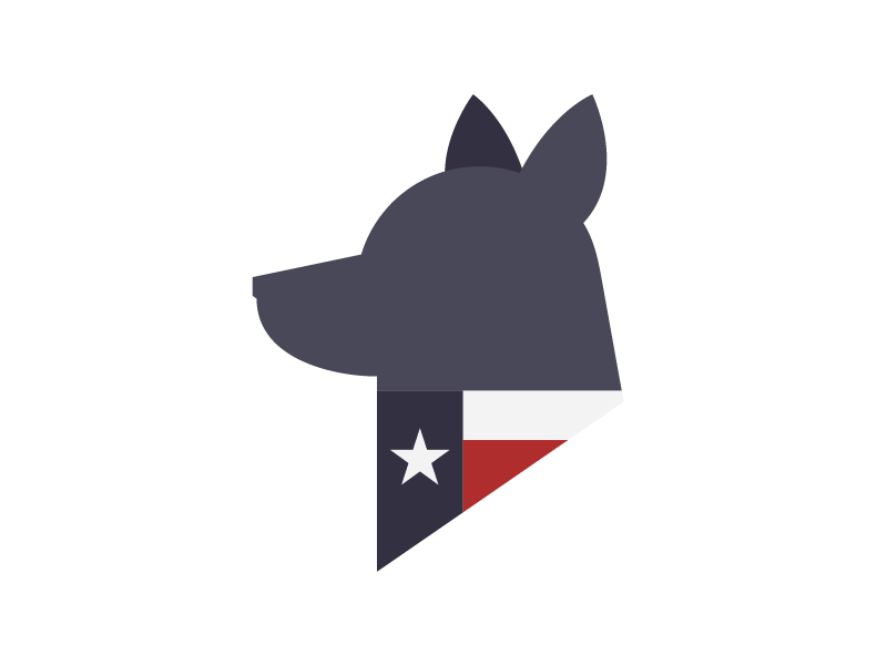 Final Spec Logo for TCDR branding logo texas cattle dog rescue cattle dogs dogs blue heelers tcdr