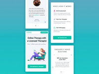Talkspace Mobile Landing Page