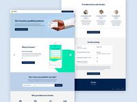 Zocdoc Desktop Landing Page