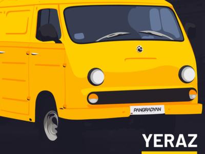 Yeraz Car Illustration