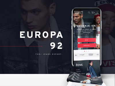 Europa92 - online fashion store