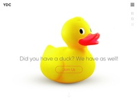 Yellow Duck Club Landing Page