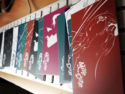 1st batch of business cards business cards illustration