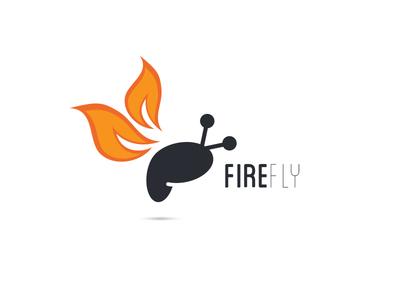 Logo Concept for FireFly logo concept vector
