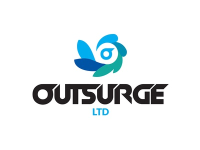 Outsurge logo branding outsurge