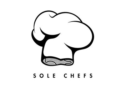 SoleChefs logo logo branding vector illustrator solechefs sneakers