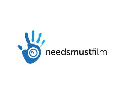 Needs Must Film Logo Design logo design film photography vector illustrator needs must film logo design graphic design