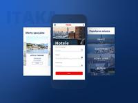Mobile website Itaka
