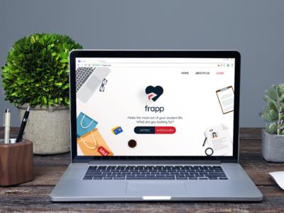 Website Redesign for Frapp.in