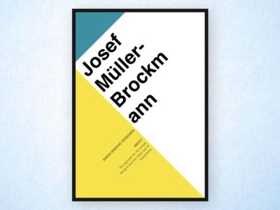 Josef Muller Brockmann Poster