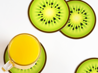 Cheer Up with Kiwi Koasters