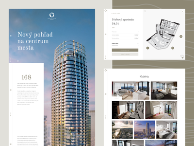 Eurovea Tower / Website construction company construction jtre tower website design website uxdesign uxui architect architectural design building build architecture website architecture design architecture web webdesign ui ux