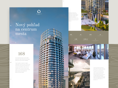 Eurovea Tower / Homepage architect architecture apartments apartment flat bratislava eurovea developer construction building home screen home page homepagedesign homepage design homepage design web webdesign ui ux