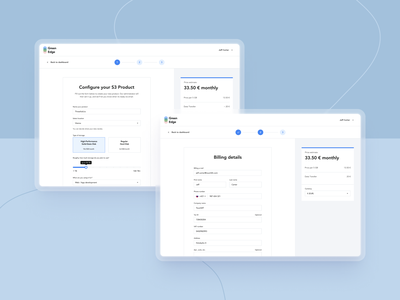 IaaS / Web app management app management iaas web application ux  ui checkout process checkout flow checkout form checkout page billing checkout cloud server web app design web apps web app ui uxdesign uxui ux