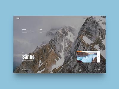 NTR Creative Concept / Slide v-2 homepage banner slider suisse switzerland webdesign design ux ui