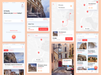 Visual Exploration For Moly / City Guide App