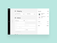 paperan / shopping exploration / checkout process