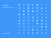 Google Material Icons – Library for Sketch