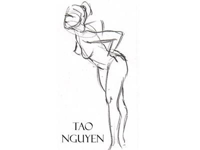 Tao Nguyen's Quick Gesture Drawing