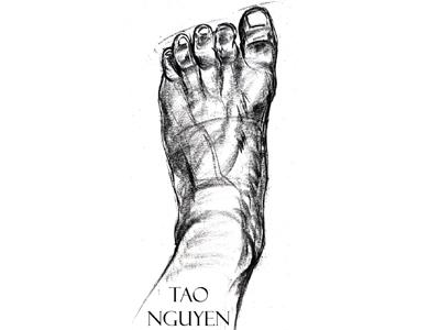 Tao Nguyen's Foot Drawing 1