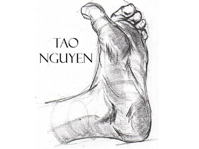 Tao Nguyen's Foot Drawing 2