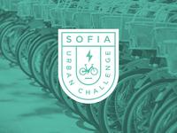 Sofia Urban Challenge / E-Bike Sharing Logo