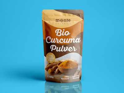Monte Organics / Bio Curcuma Pouches