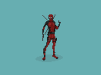 Deadpool Pixelart