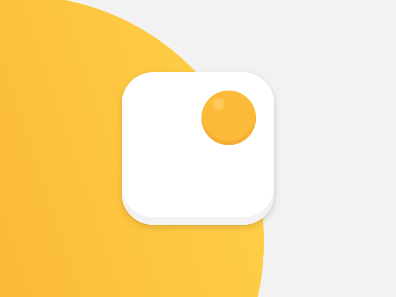 EggFast App Icon #DailyUI #005 breakfast app icon icon app 005 dailyui