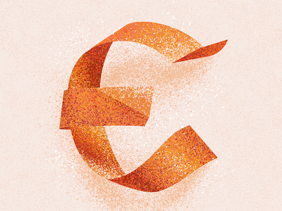 E texture lettering 36 days of type 2021 alphabet typography type e letter e letter 36 days e 36 days of type 08 36 days of type