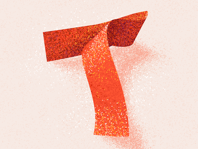 T texture t letter t 36 days t 36daysoftype 36 days of type 2021 36 days of type 08 typography lettering alphabet 36 days of type type