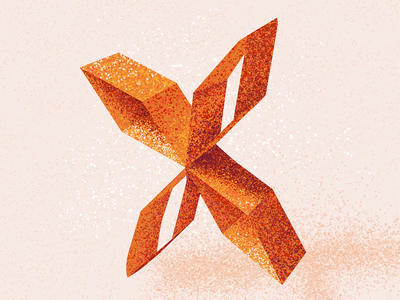 X letter x x 36 days x texture 36 days of type 2021 36 days of type 08 36daysoftype alphabet typography lettering 36 days of type type