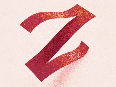 Z letter z z 36 days z texture 36 days of type 2021 36 days of type 08 36daysoftype typography alphabet 36 days of type lettering type illustration