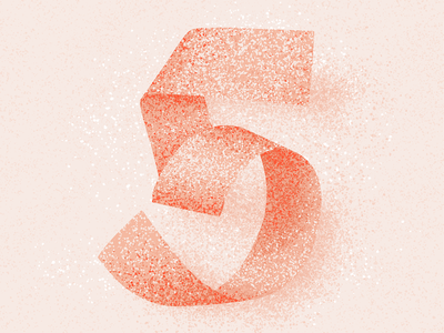 5 five 36 days 5 number 5 number five 5 texture 36 days of type 2021 36 days of type 08 36daysoftype typography alphabet 36 days of type lettering type