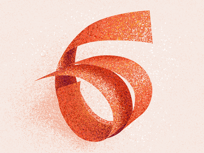 6 number 6 number six 36 days 6 six 6 texture 36 days of type 2021 36 days of type 08 36daysoftype typography alphabet 36 days of type lettering type