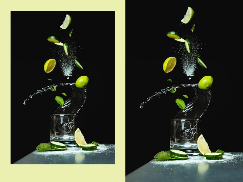 Nji drink process